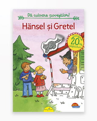 Hansel Si Gretel - Pixi Autocolant