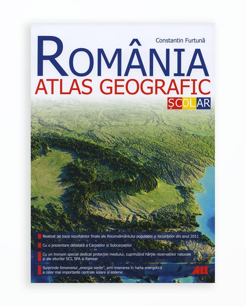 Romania. Atlas Geografic Scolar - Editia 2