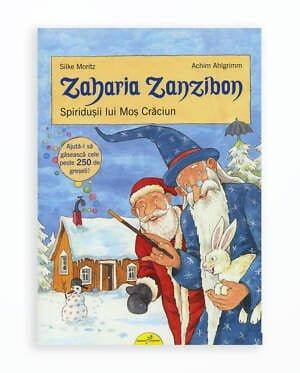 Spiridusii Lui Mos Craciun - Zaharia Zanzibon Volumul 4