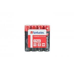 Baterii Verbatim  Alkaline Aaa - Pachet 4 Folie