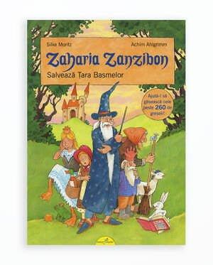 Zaharia Zanzibon Salveaza Tara Basmelor - Volumul 3