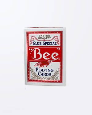 Carti de Joc Bee Poker - Rosu