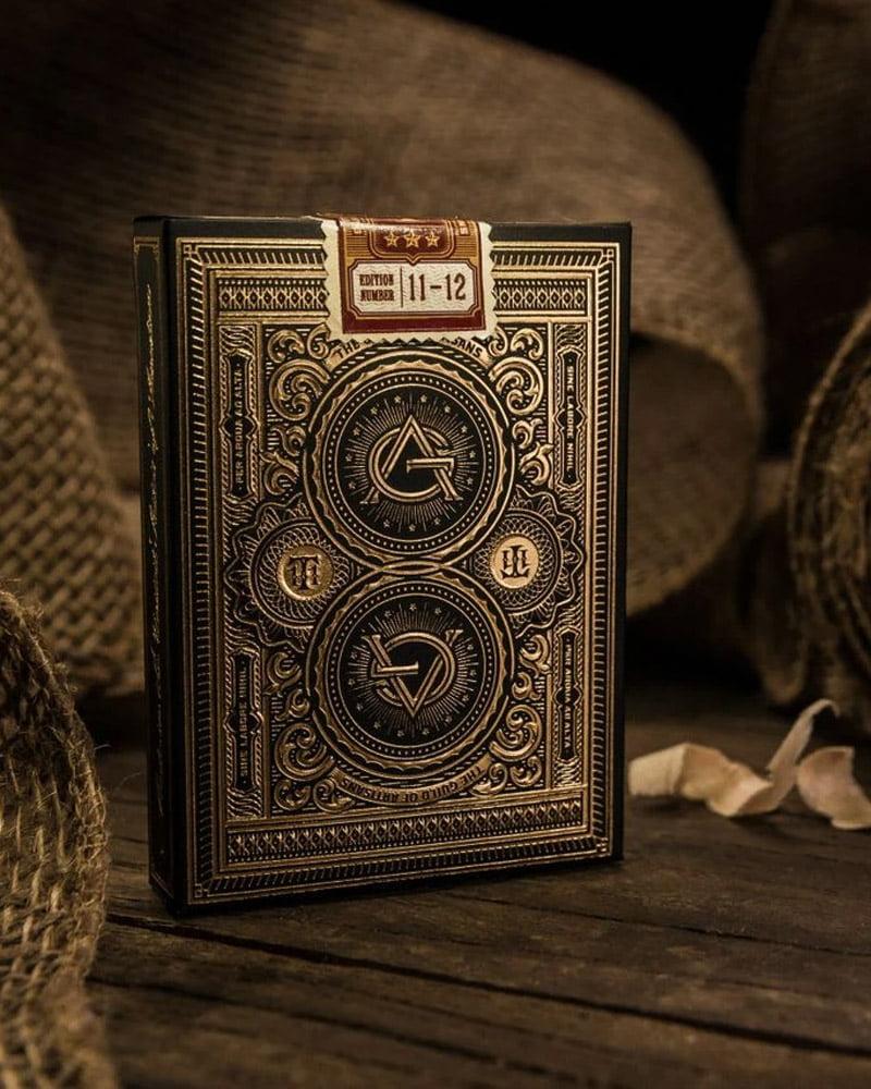 Carti de Joc Artisan - Negru
