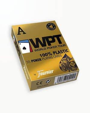 Carti de Joc WPT Gold