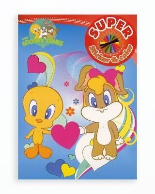 Baby Looney Tunes - Super Sticker & Color