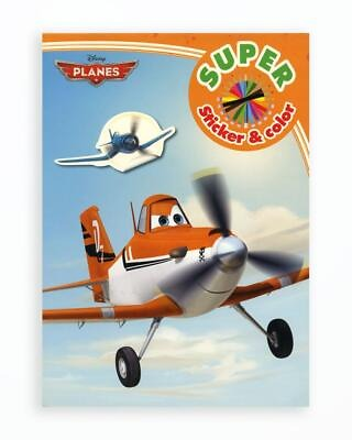 Planes - Super Sticker & Color