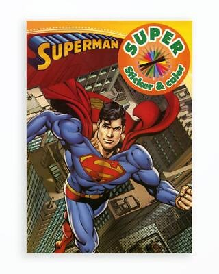 Superman - Super Sticker & Color