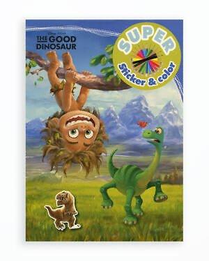 The Good Dinosaur - Super Sticker & Color