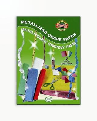 Hartie Creponata Metalizata Koh-I-Noor