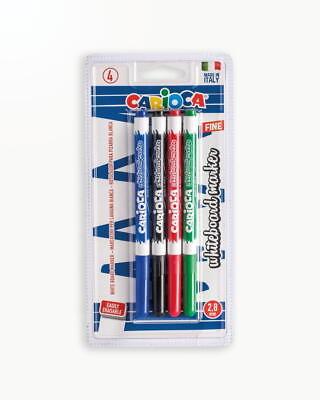 Whiteboard Marker Carioca - 4 culori