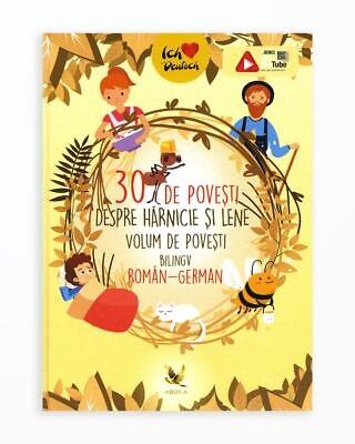 30 de Povesti despre Harnicie si Lene - Bilingv Ro-Ger