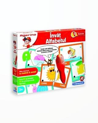 Invat Alfabetul - Joc Educativ Electronic Agerino
