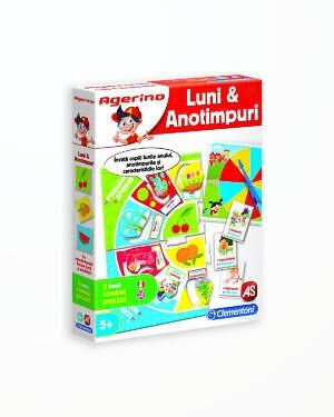 Invata Lunile si Anotimpurile - Joc Educativ Agerino