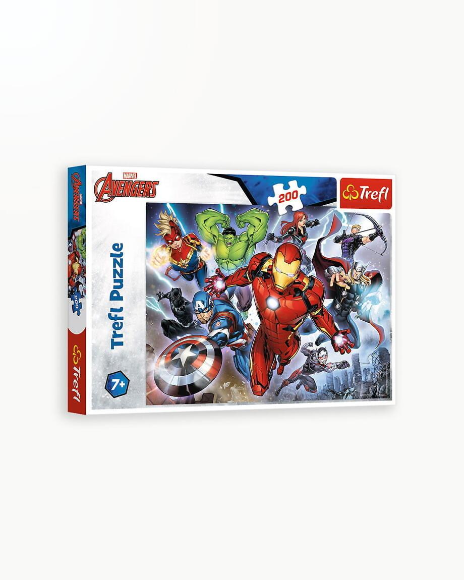 Puzzle Trefl 200 Avengers Rabunatorii