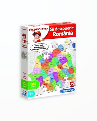 Sa Descoperim Romania - Joc Educativ Agerino