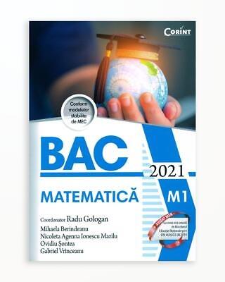 Bac 2021 Matematica