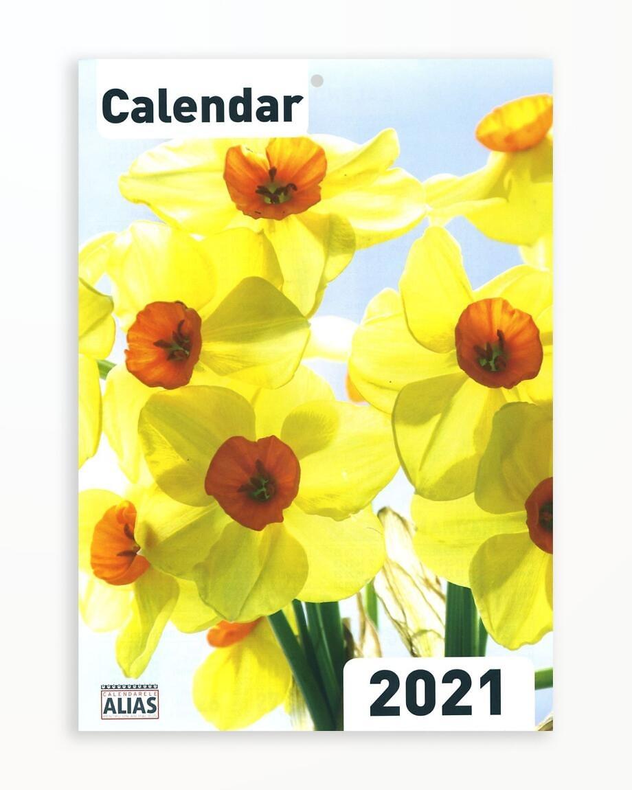 Calendar Flori (A4) – 2021