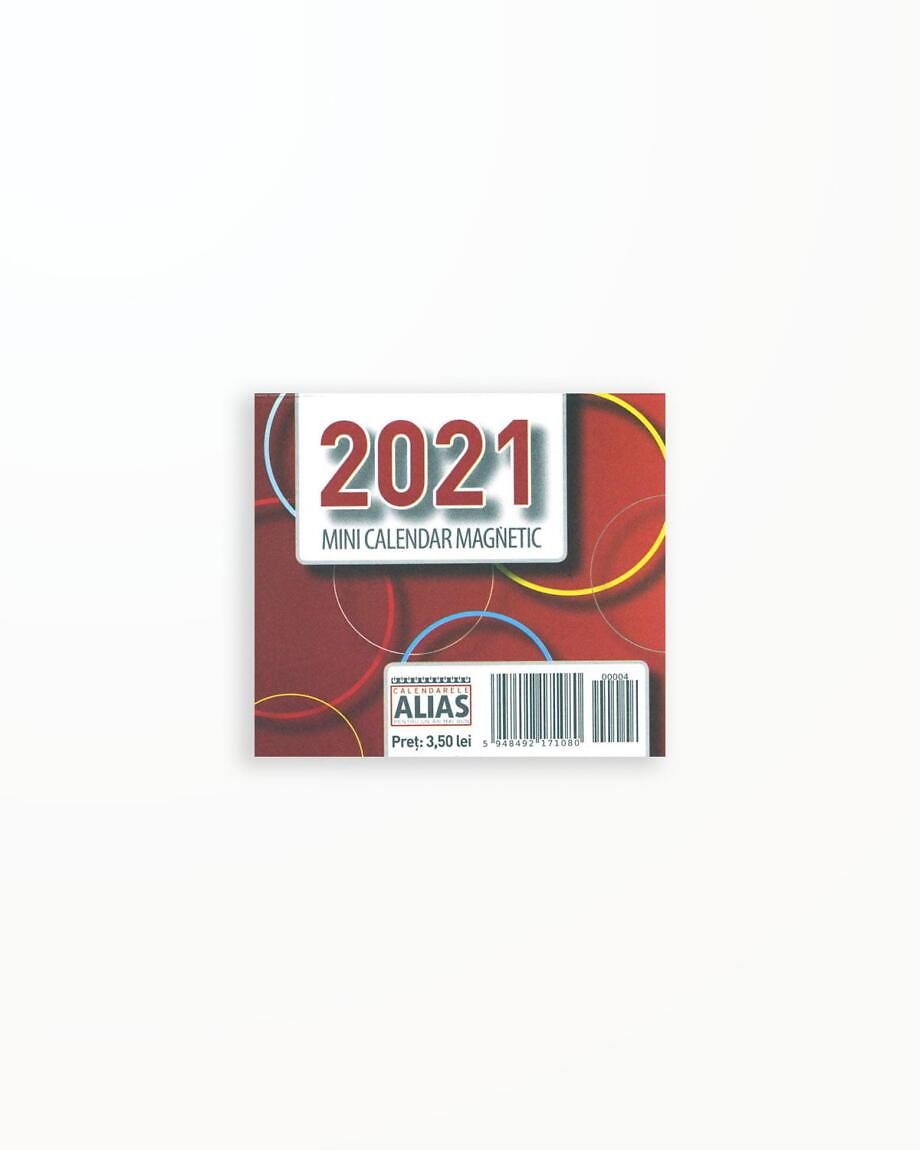 Mini Calendar Magnetic – 2021