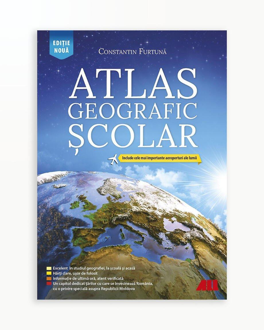 Atlas Geografic Scolar - Ed. 6