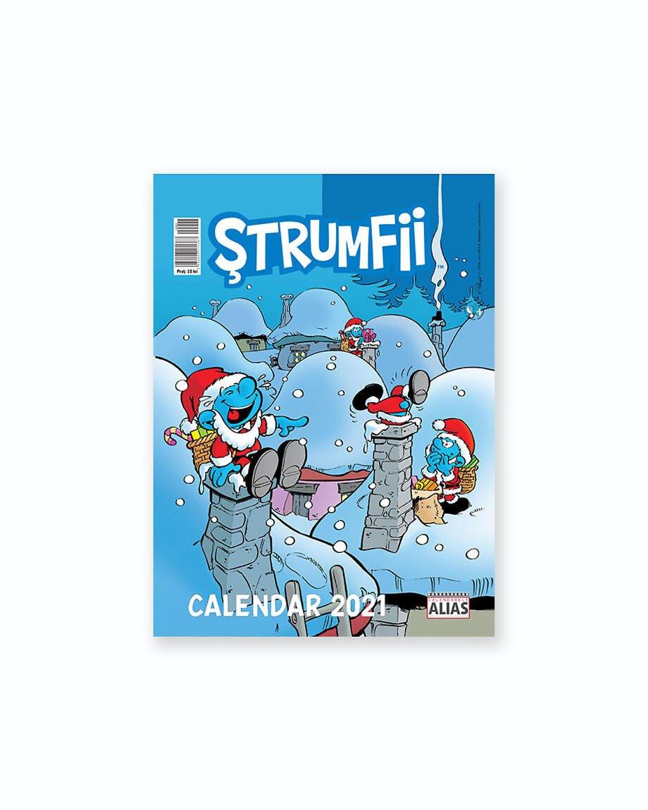 Calendar Strumfii 12+1 File - 2021