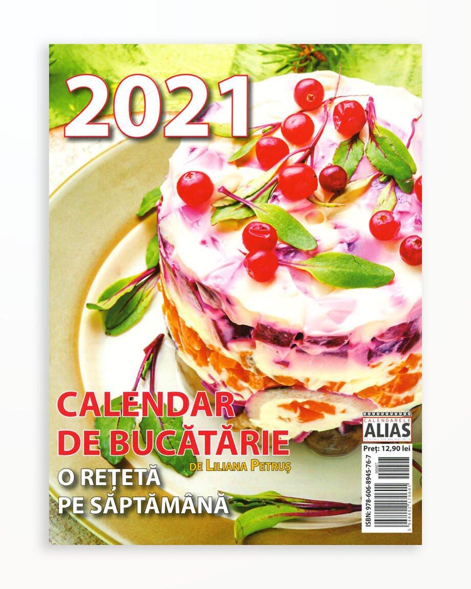 Calendar de Bucatarie 53+1 File - 2021