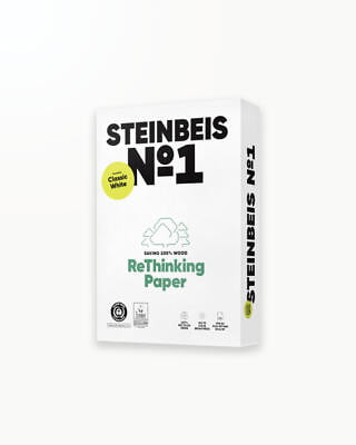 Steinbeis N° 1 - reciclata, A4 80g